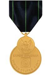Navy Rifle Marksmanship Medal