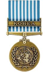 United Nations Korea Service Medal
