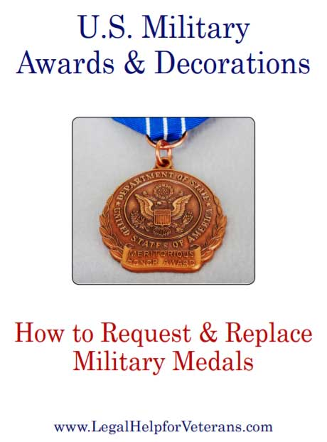 How to Request and Replace Military Medals