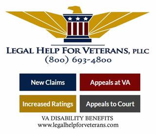 Legal Help for Veterans