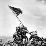 WWII Flag Raising