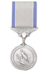 Coast Guard Silver Life Saving Medal