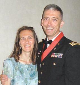 Reverend Captain Dale Allen Goetz and Wife