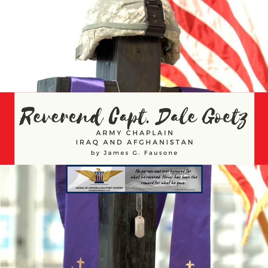 Reverend Captain Dale Goetz