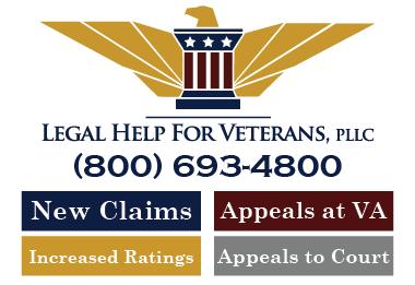 Our Sponsor - Legal Help For Veterans, PLLC