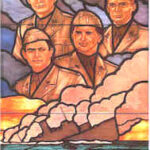 """<a href=""""https://homeofheroes.com/heroes-stories/world-war-ii/the-four-chaplains/"""">The Four Chaplains</a>"""