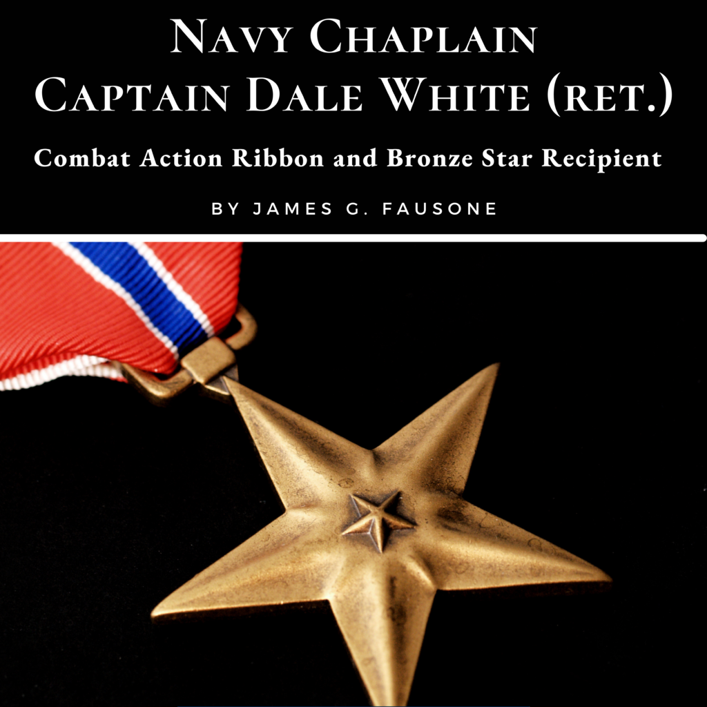Navy Chaplain Capt. Dale White