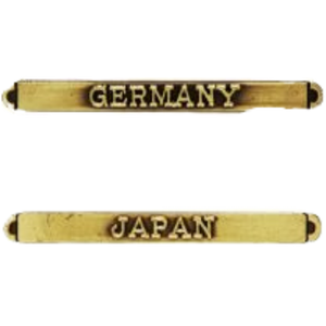 Germany and Japan Clasps